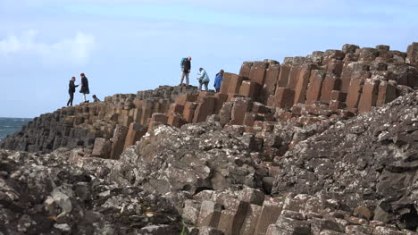 Northern-Ireland-Holding-Hands-On-Giants-Causeway