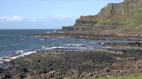 Northern-Ireland-Looking-Toward-Columnar-Basalt-On-Giants-Causeway