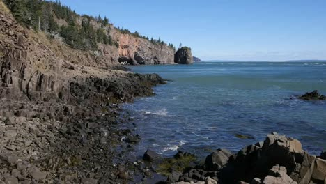 Canada-Bay-Of-Fundy-Tide-Ebb-Time-Lapse-One-Minute
