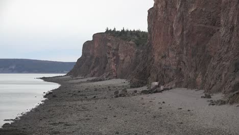 Canada-Nova-Scotia-Cliffs-And-Bay-Of-Fundy-Beach