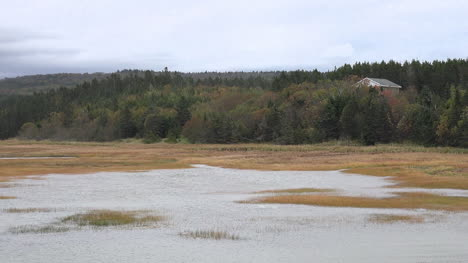 Canada-Nova-Scotia-High-Tide-And-Hills-Pan