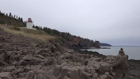Canada-Nova-Scotia-Lighthouse-Beyond-Rocks