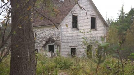 Canada-Nova-Scotia-Ruined-House-With-Shingles