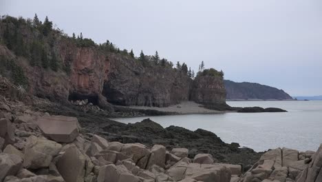 Canada-Nova-Scotia-Shore-Of-Bay-Of-Fundy