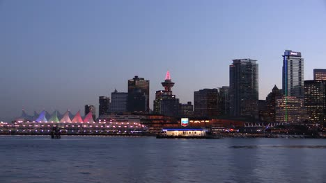 Canada-Vancouver-Skyline-Lights-At-Night