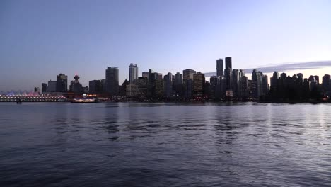 Canada-Vancouver-Water-And-Skyline