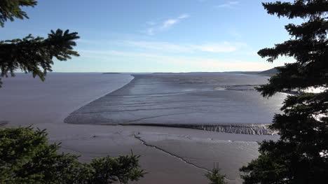 Canada-A-Wedge-Shaped-Mud-Flat-At-Hopewell-Rocks