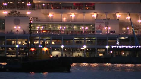 Canada-Cruise-Ship-Lights-And-Tug-Boat