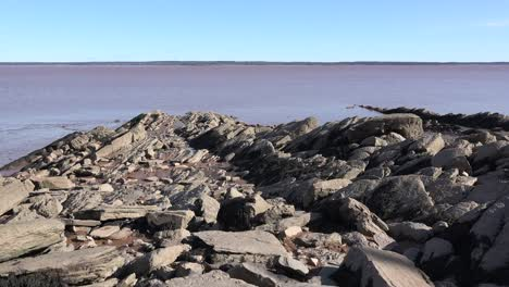 Canada-Looking-From-Rocks-Over-Bay-Of-Fundy