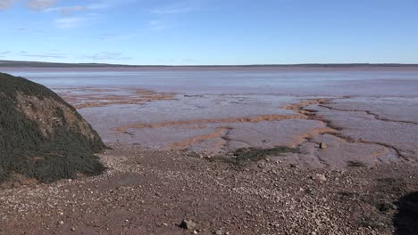 Canada-Mud-Flat-And-Tide-Going-Out