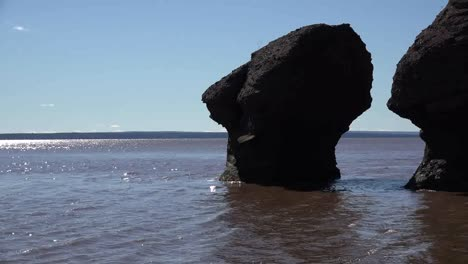 Canada-Pans-To-Rocks-At-Hopewell-Rocks