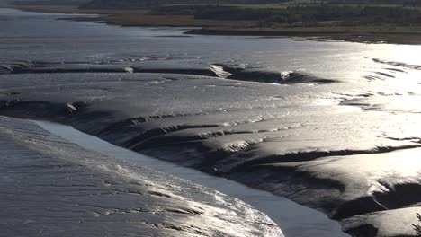 Canada-Smooth-Detail-Of-Mud-At-Bay-Of-Fundy