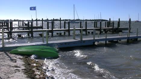 Florida-Key-Largo-Docks-And-Waves