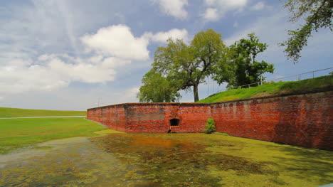 Louisiana-Fort-Jackson-Brick-Walls