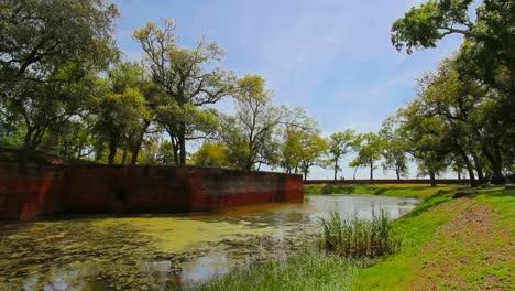 Louisiana-Fort-Jackson-Moat