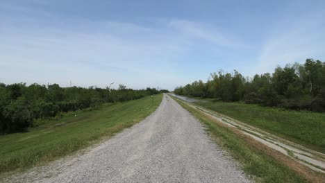 Louisiana-Mississippi-River-Road-Down-Levee