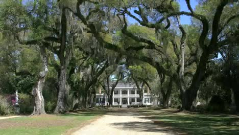 Louisiana-Rosedown-Plantation-House-And-Oak-Alley