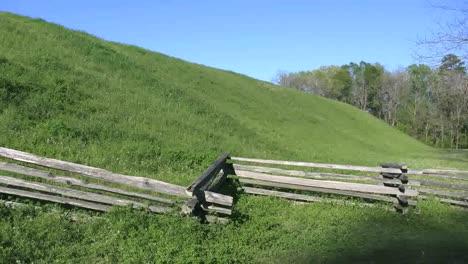 Mississippi-Emerald-Mound-With-Split-Rail-Fence