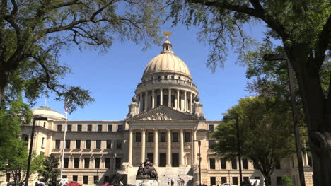 Mississippi-Statehouse-Dome-And-Facade