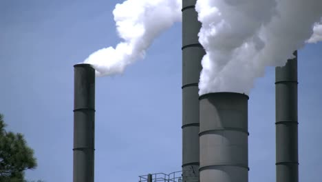 Smokestacks-Pouring-Out-Steam