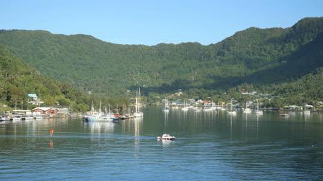 American-Samoa-Pago-Pago-Harbor-With-Small-Boat