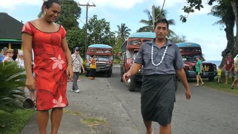 American-Samoa-Colorful-Busses-And-Samoans