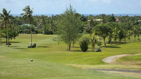 American-Samoa-Golf-Course-With-Carts