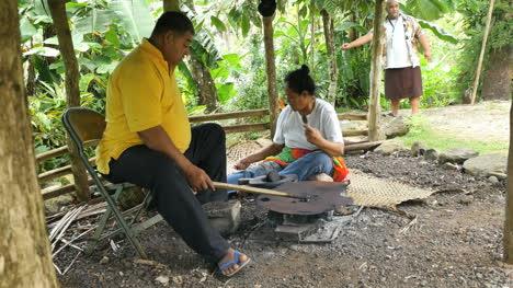 American-Samoa-Man-Roasting-Cacao