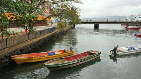 Fiji-Suva-Boats-And-Bridge
