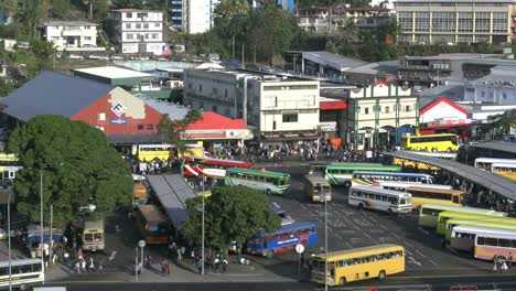 Fiji-Suva-Busses-And-People