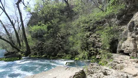 Missouri-Current-River-At-Big-Spring-Pans-Left-From-Rock-Shelter
