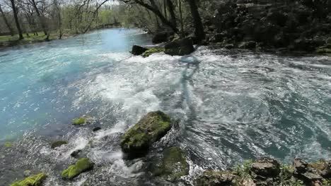 Missouri-Current-River-At-Big-Spring-Pans-Left-To-River