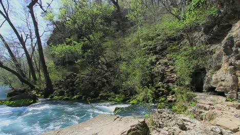 Missouri-Current-River-At-Big-Spring-With-Rocks