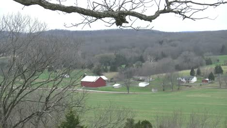 Missouri-Ozark-View-With-Red-Barn
