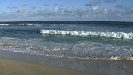 Oahu-Sandy-Beach-Wave-Comes-In