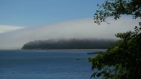 Oregon-Tillamook-Bay-Mist-Over-Headland-In-The-Distance