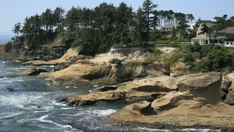 Oregon-Coastal-Rocks-At-Depoe-Bay