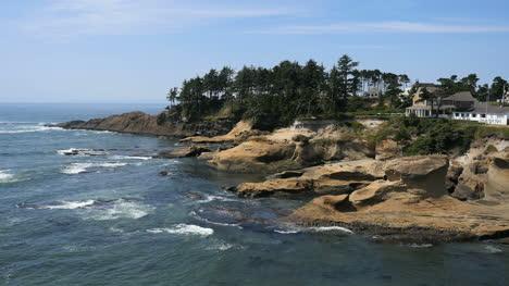 Oregon-Eroded-Coast-At-Depoe-Bay