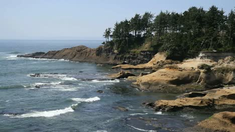 Oregon-Sandstone-Coast-At-Depoe-Bay