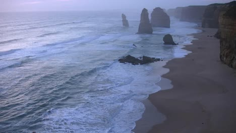 Australia-Great-Ocean-Road-12-Apostles-After-Sunset-Zoomed-Out