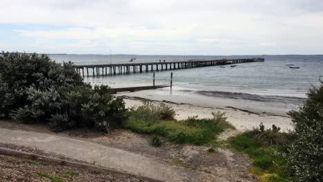 Australia-Mornington-Peninsula-Pier-At-Flinders