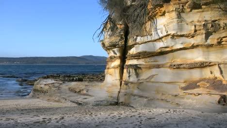 Australia-Murramarang-Beach-Sandstone