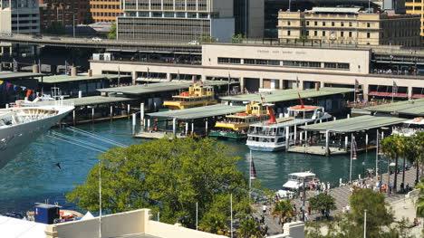 Australia-Sydney-Circular-Quay-Looking-Down