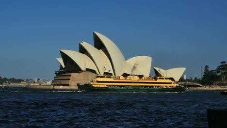 Australia-Sydney-Opera-House-Ferries-Pass-By-Time-Lapse