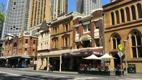 Australia-Sydney-The-Rocks-Old-Buildings-And-A-Pub