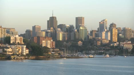 Australia-Sydney-Approach-Past-High-Rise-Suburbs