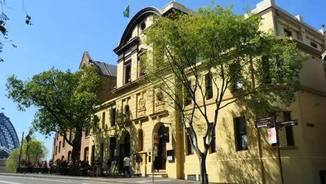 Australia-Sydney-Early-20th-Century-Building