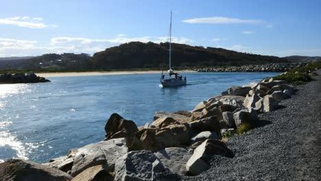 Australia-Sailboat-At-Narooma