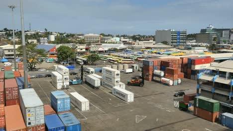 Fiji-Suva-View-With-Docks