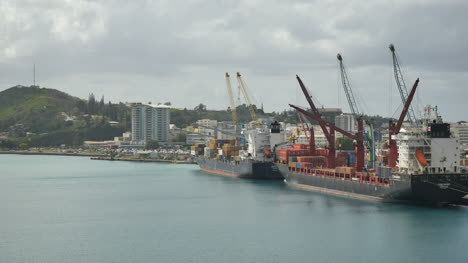 New-Caledonia-Noumea-Loading-Two-Ships
